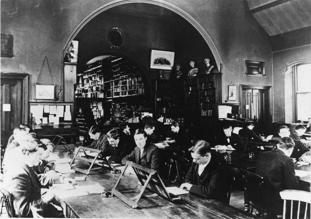Looking Back - Uni Library - 1897