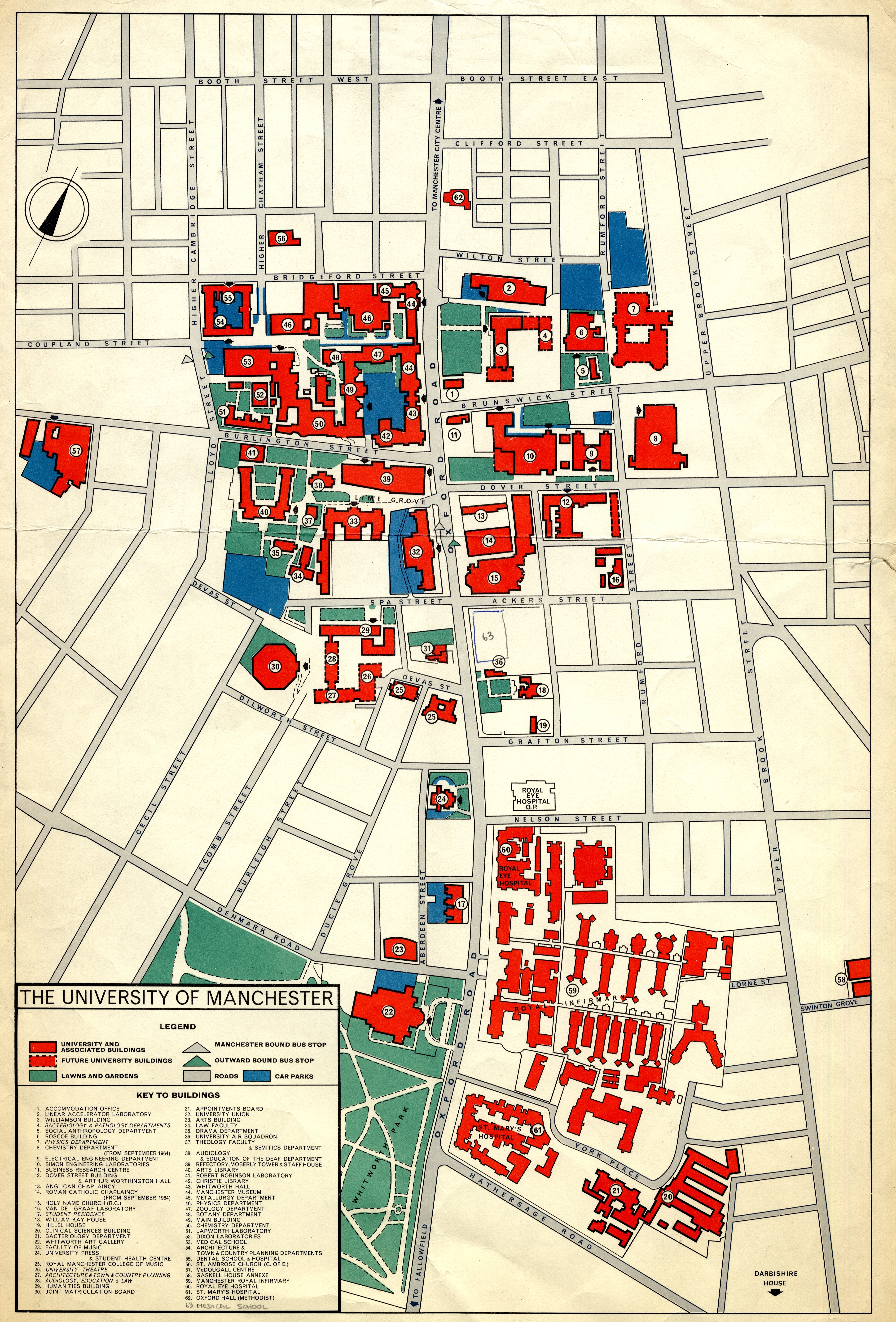 Whitworth University Campus Map.Mapping University History University Histories