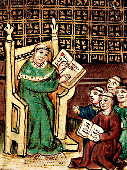 Image result for medieval university free disputation
